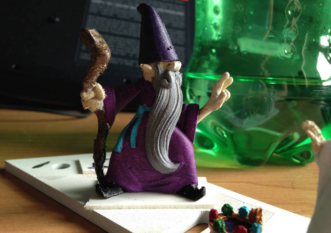 3D printed wizard