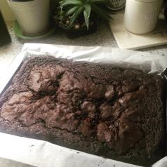 made brownie yumness