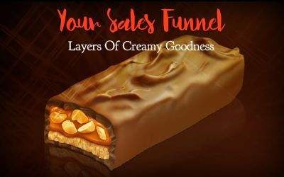 Why Your Sales Funnel Should Be Like Eating A Creamy, Chocolaty Snickers Bar