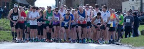 The Brill Hilly 10k start