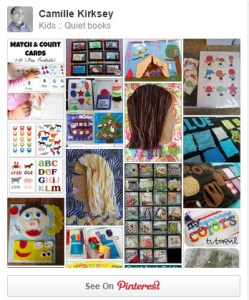 Quiet Book Board on Pinterest
