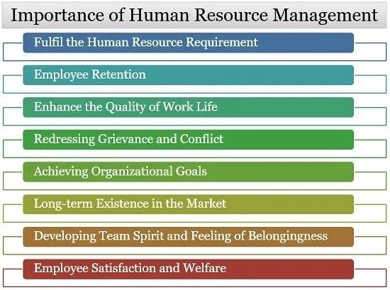importance of HR management
