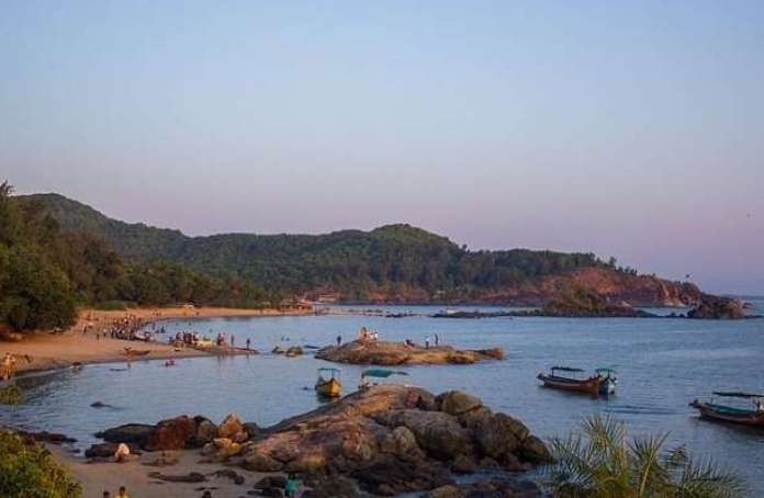View of Om Beach