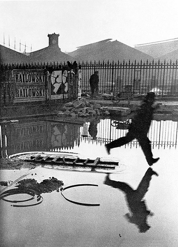 One of Henri Cartier-Bresson's most iconic images - 1947