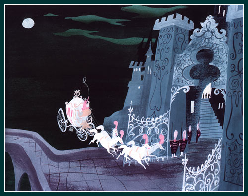 "Mary Blair concept art from ""Cinderella"""