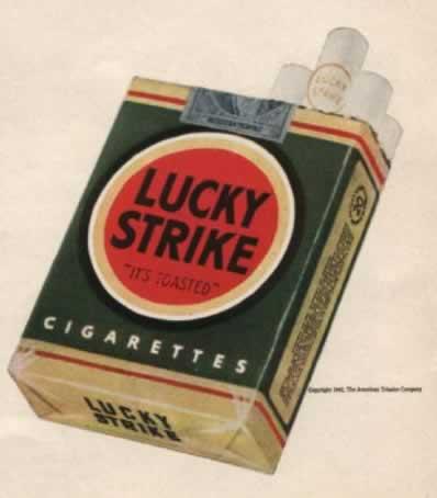 Luck Strike (Pre-Raymond Loewy)