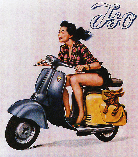 Great old Vespa ad