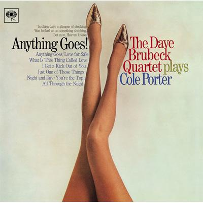 Dave Brubeck Quartet Plays Cole Porter Anything Goes - 1965