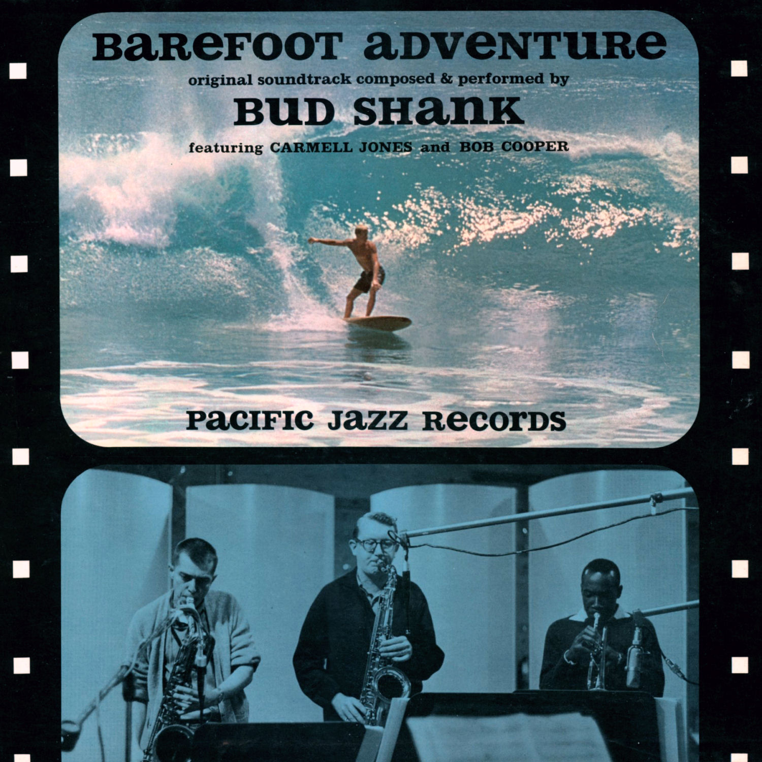 """Bud Shank's soundtrack to """"Barefoot Adventure"""""""