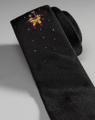 Detail of Spaceman tie