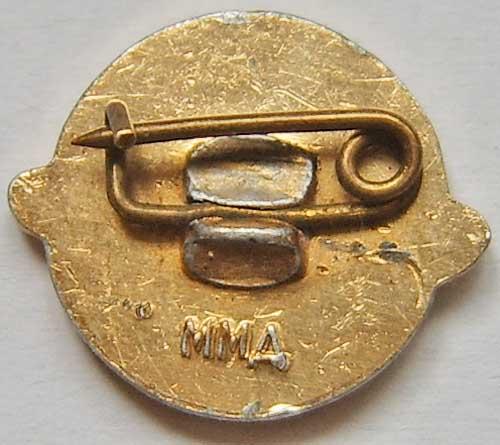 USSR satelite pin back