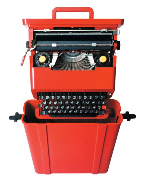 The Valentine Typewriter Ettore Sottsass For Olivetti