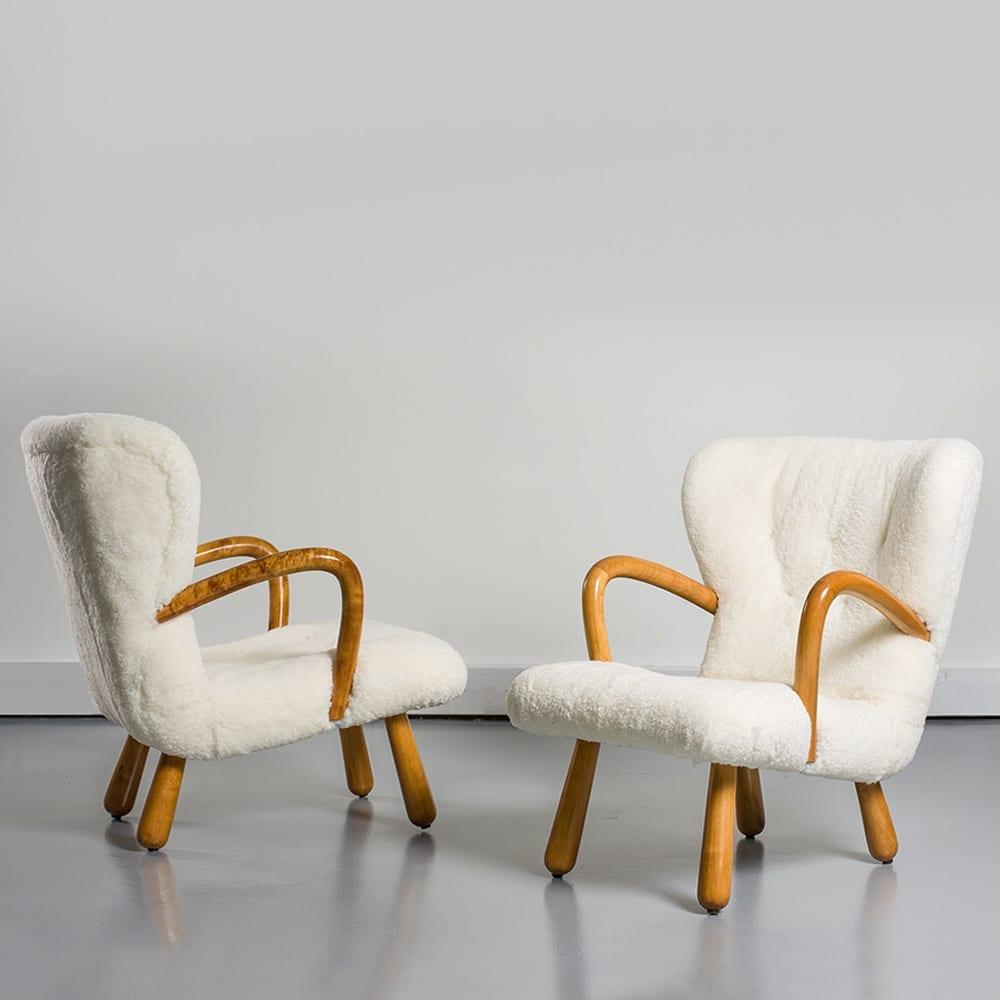 paire de fauteuils ake by ikea 1950