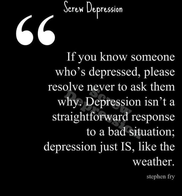 why do you have depression