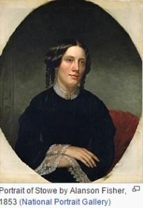 Harriet Beecher Stowe via Wikipedia
