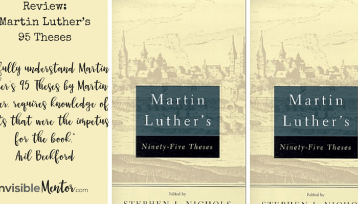 Review of Martin Luther's 95 Theses #theclassics