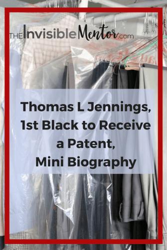Thomas L Jennings, first black to file patent