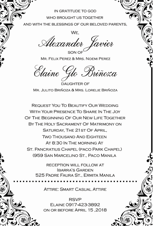 Wedding Invitation Wording Samples Theinvitationco