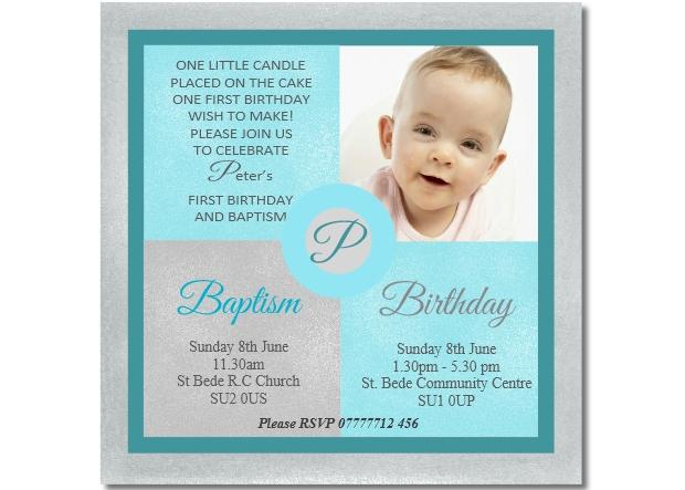 boys joint christening birthday