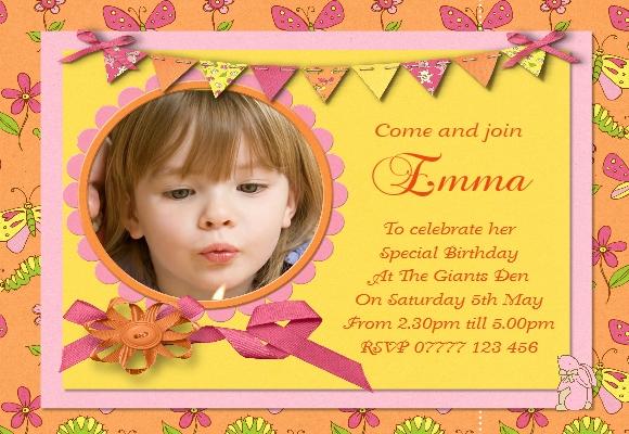 girl s birthday party invitations
