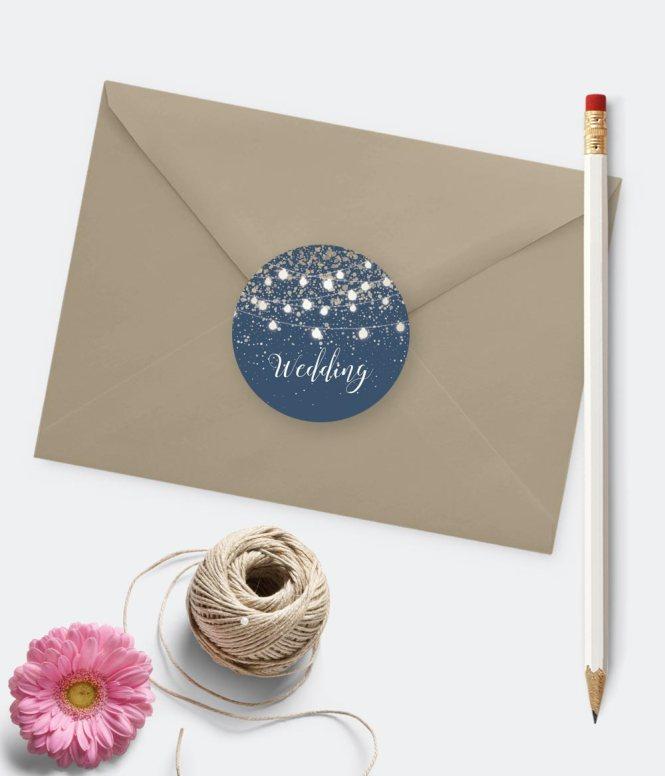 Wedding Envelope Seals Personalised