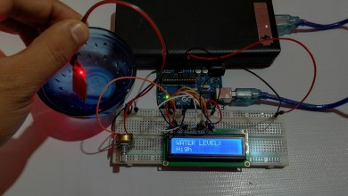 Water Level Sensor Arduino Tutorials