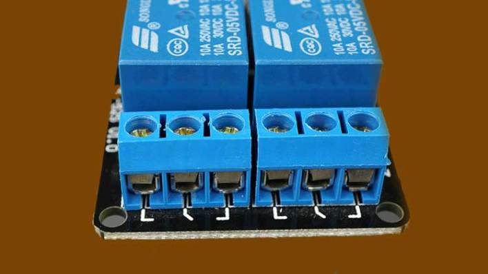 Relay 2 Channel Relay Module Output Pins