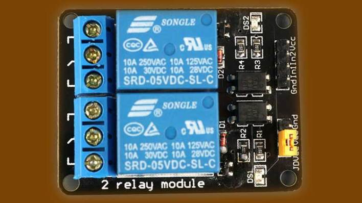 Home Automation with ESP8266 Web Server & Relay Module Control Appliances