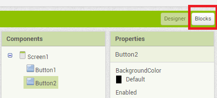Add blocks to the app for home automation using ESP8266