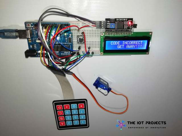 Access denided to user for entering wrong password arduino