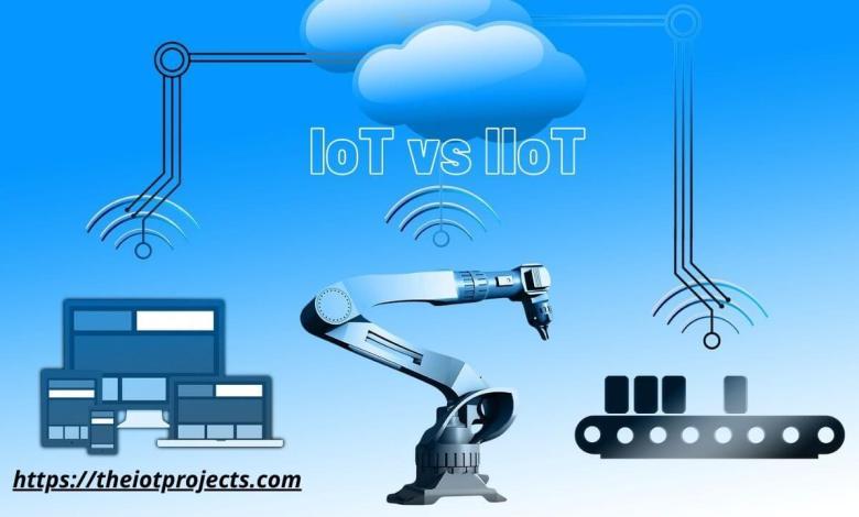 IoT vs IIoT -Internet of Things (IoT) vs Industrial Internet of Things (IIoT) and it's protocols