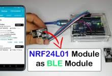 NRF24L01 as BLE Module with Arduino