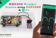 ESP8266 BME280 IoT Weather Station using Blynk App