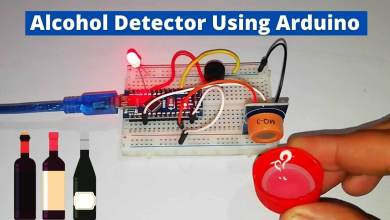Alcohol Detector Using Arduino & MQ3 Sensor