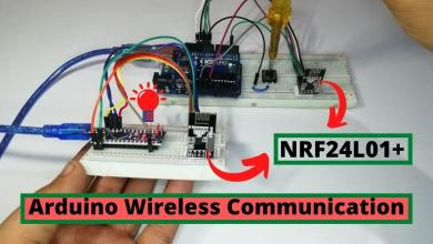 Arduino Wireless communication using NRF24L01 Module