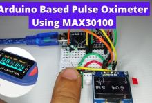 Pulse Oximeter using Arduino & MAX30100