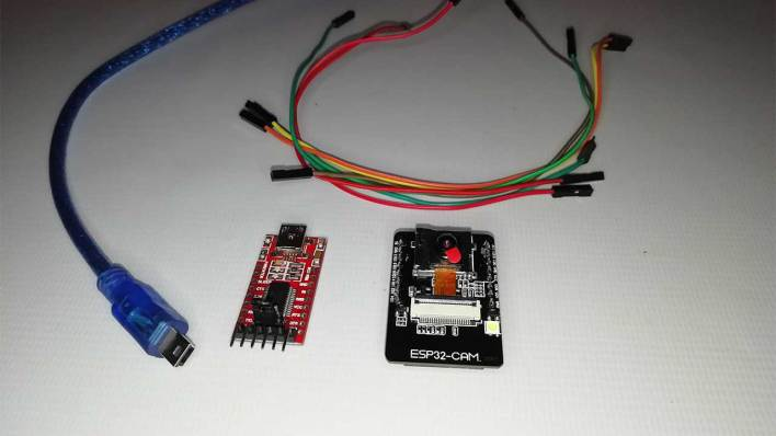 Components required to Program ESP32 CAM to Stream Video Over Wi-Fi