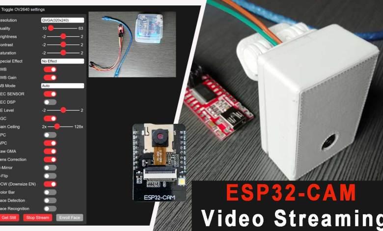 Program ESP32 CAM to Stream Video Over Wi-Fi