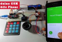 Arduino Based GSM Mobile Phone using SIM800L