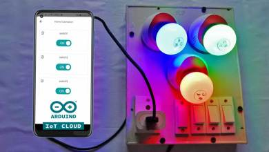 Home Automation with Arduino IoT Cloud using ESP8266