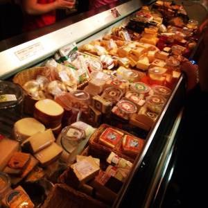 How do you pick just 30? Not only does Twin County Dairy make the best curds, they also have one of the best international/local cheese cases in the area. DO NOT leave without a few links of Landjager sausage! Near Kalona, IA in Washington County.