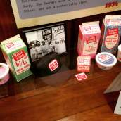 Hometown Dairy was once a trusted brand and steady employer for generations of Johnson County residents. At the Johnson County Historical Society Museum. https://www.facebook.com/JohnsonCountyHistoricalSociety