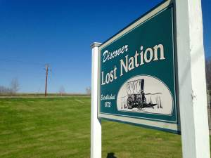 Lost Nation, IA and then found by Bella and Team Goodvin! http://www.lostnation-iowa.com/