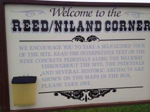 Where Jefferson and Lincoln high-five is the historic Reed/Niland Corner. A road trip must-stop! https://www.facebook.com/pages/Reed-Niland-Corner/302298883134667