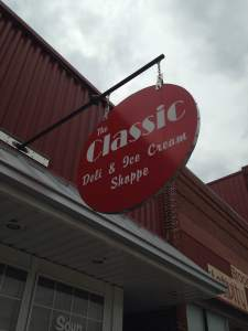 The Classic Deli in Brooklyn, IA. https://www.facebook.com/TheClassicDeliIceCreamShoppe