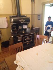 The Victorian style house had exhibits in every room and told the story of the Brooklyn, IA area at every turn.