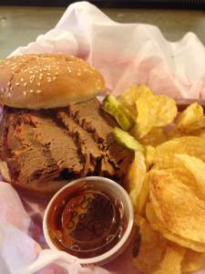 Juicy, tender and just damn good meat! Perhaps the finest brisket in the entire state of Iowa. This is one of The Classic's specialties. Served only on Saturdays and guaranteed to sell out. Get to Brooklyn early for this true Iowa masterpiece. And order two while there's still some left.