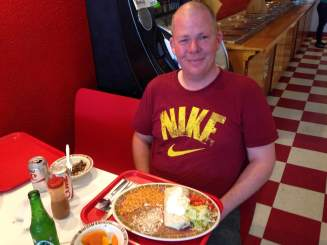 A Mexican feast with Ray Wetherell, of The Forgotten Iowa Historical Society.
