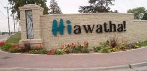 Hiawatha says hello, welcome and bring it on to RAGBRAI 2015! http://www.hiawatha-iowa.com/