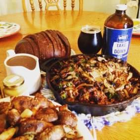 Salisbury Steak w/ Confluence Irish Stout Gravy